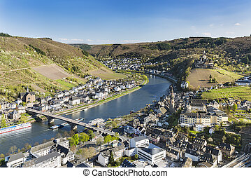 Cochem And Moselle River, Germany