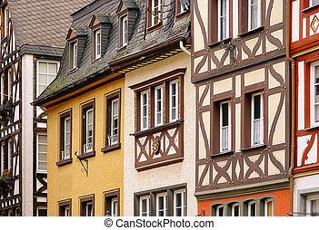 Cochem half-timbered house 05