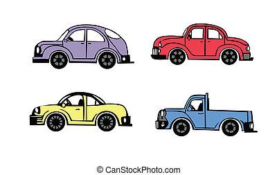 coches, 4