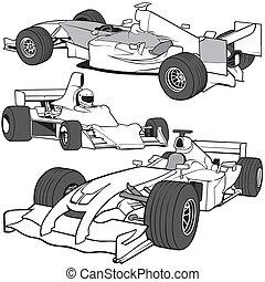 coches, carreras