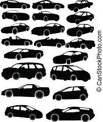 coches, colección