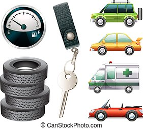 coches, partes
