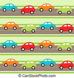 coches, patrón