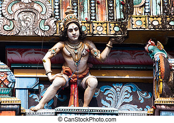 cochin, świątynia, vishnu