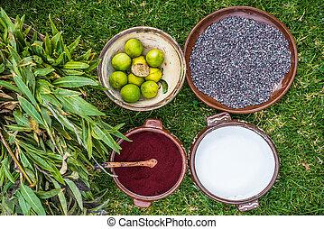 cochineal, barwnik, peruwiański, andy, cuzco, peru