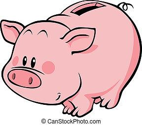 cochon, tirelire