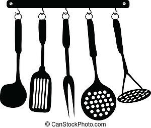 cocina, accesorios