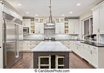 cocina, casa luxury