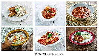 cocina, europeo