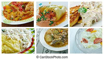 cocina, europeo, ost