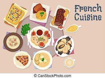 Cocina pastel franc s postre pastel icono pastel for Diseno de cocina francesa