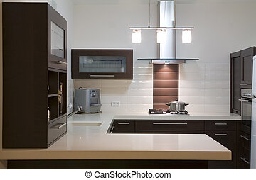 cocina, lujo, diseño