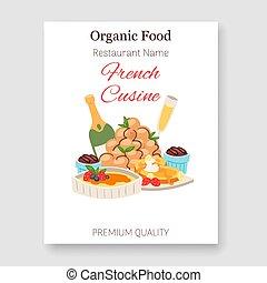 cocina, orgánico, restaurante, alimento, menú, nacional,...