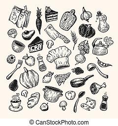 cocina, tools., cocina