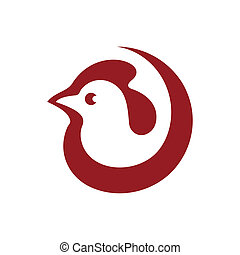 Cock sign - Branding identity corporate logo isolated on ...