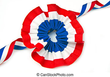 cockade with italian flag color