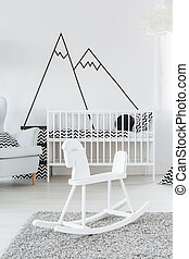 Cockhorse in baby room