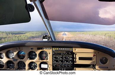 cockpit, aanzicht