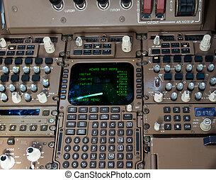 Cockpit Control Panel.