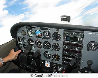 Cockpit Control - Internal of Cockpit - Aircraft...
