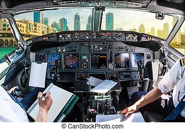 Cockpit in Dubai