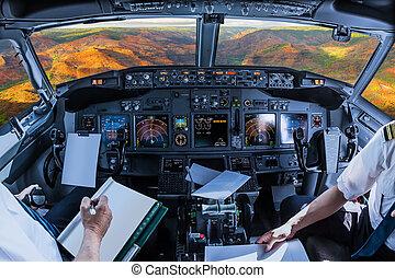 Cockpit  in Waimea Canyon Hawaii