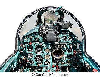 cockpit, mig21