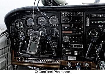 cockpit passenger aircraft