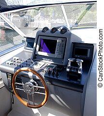 cockpit, scheepje