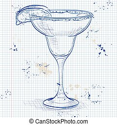 Cocktail alcohol Margarita