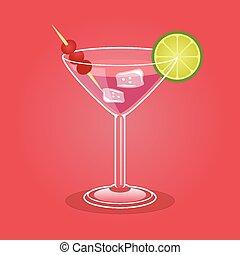 cocktail, alcoolique