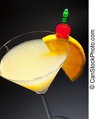Cocktail Bronx - Ingredients: 2 oz gin 2 oz vermouth 1 oz...