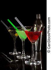 cocktail, collezione, colorito