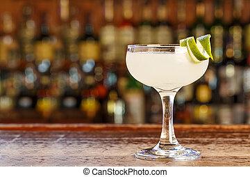 Cocktail daiquiri on the bar