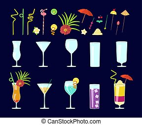 cocktail drink decoration