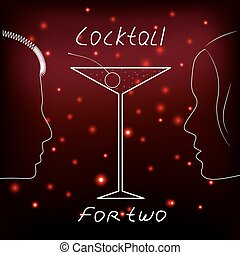Cocktail for two