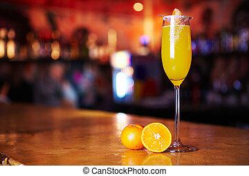 cocktail, frais