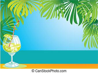 cocktail, frontière