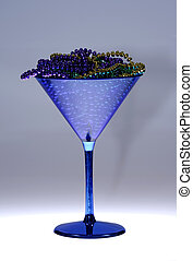 cocktail glas, hos, beads