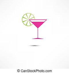 cocktail, icône