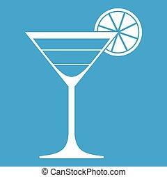 Cocktail icon white