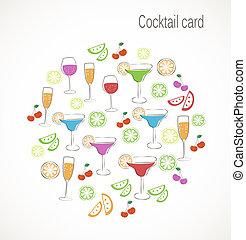 cocktail, karte