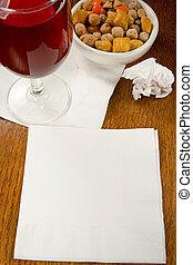 Cocktail Napkin Ideas - Ideas, charts, innovation on a...