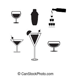 cocktail party concept