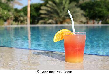 cocktail pool