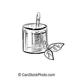 Cocktail Sketch