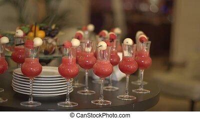 Cocktail snacks