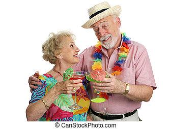 cocktailer, på semester