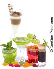 cocktails, alcoolique