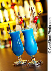 Cocktails Collection - Blue Hawaiian